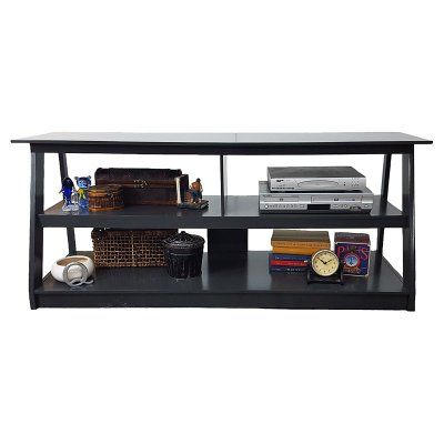 American Heartland Open Back Poplar TV Cart - Assorted Finishes - #25955EBB