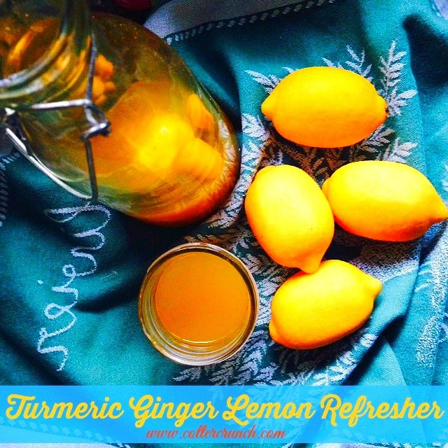 Chronic Inflammation and Turmeric Ginger Lemonade - Cotter Crunch