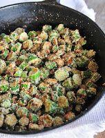 Cantinho Vegetariano: Quiabo Frito Diferente (vegana)