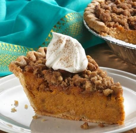 Sweet potato pie just got sweeter with the addition of a buttery, nutty topping. It's easy with a frozen pie crust.