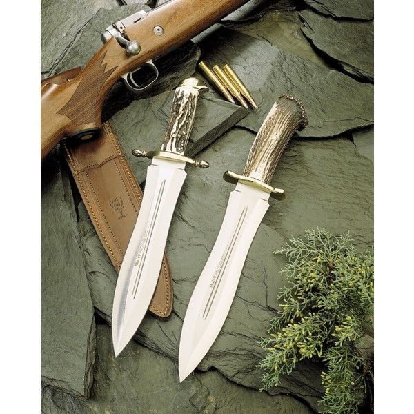 Muela knives - Aceros de Hispania. ❤ liked on Polyvore featuring weapons