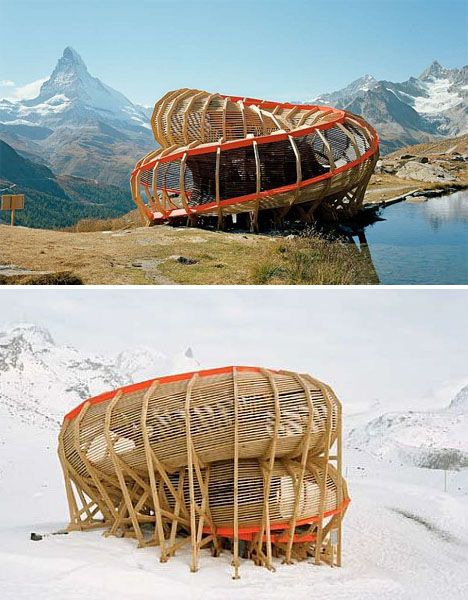 Spiral Architecture: 12 Swirling Building & Bridge Designs