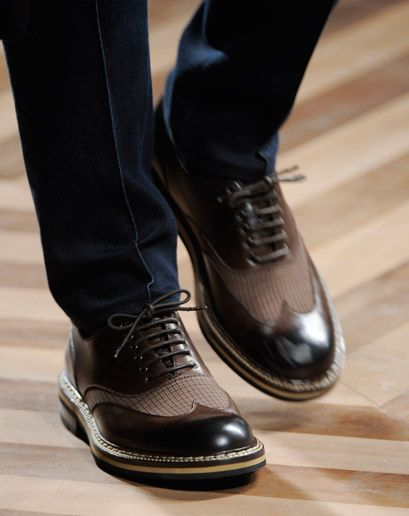 It's Gotta Be the Shoes: The 100 Best Pairs from Fashion Week | Pinterest | GQ, Fashion weeks and Mens designer shoes