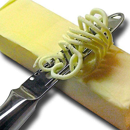 Butter Knife Magic Butter Spreader One-Piece Ergonomic Design With 3 Functions, Grater, Slicer And Curler, 2015 Amazon Top Rated Knives #Kitchen