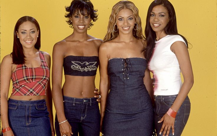 destiny's child  with new members Michelle Williams and Farrah Franklin