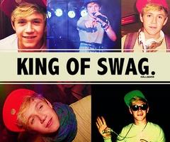 Niall Horan, aka King of Swag.