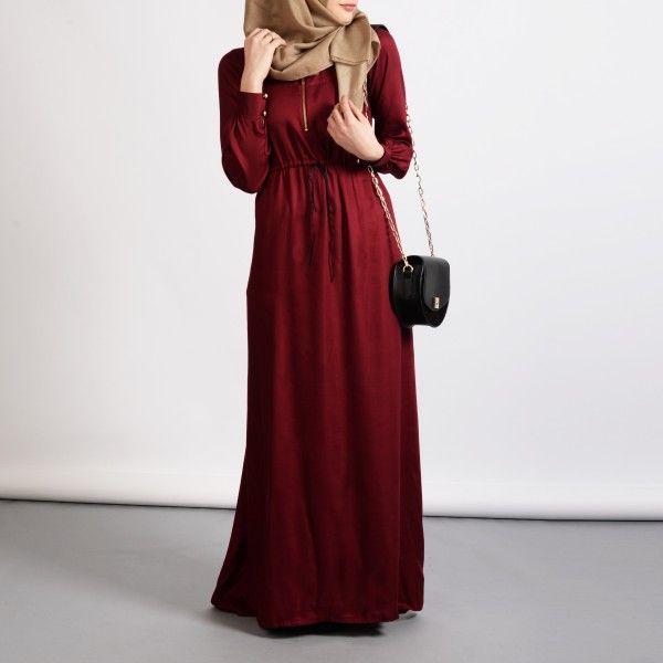 aira3 #red #abaya #abayas #BIAH #OOTD #hijab