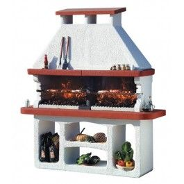 """Masonry BBQ Grill for Charcoal by Sunday Grill """"Sierra"""""""
