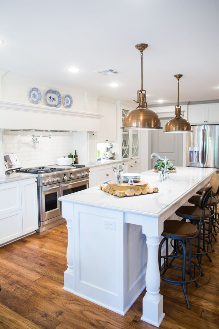 The 209 best Fixer Upper Kitchens images on Pinterest | Kitchens ...