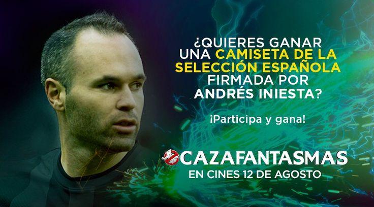 ¡Gana con #CazaFantasmasLaPeli y la Eurocopa 2016!