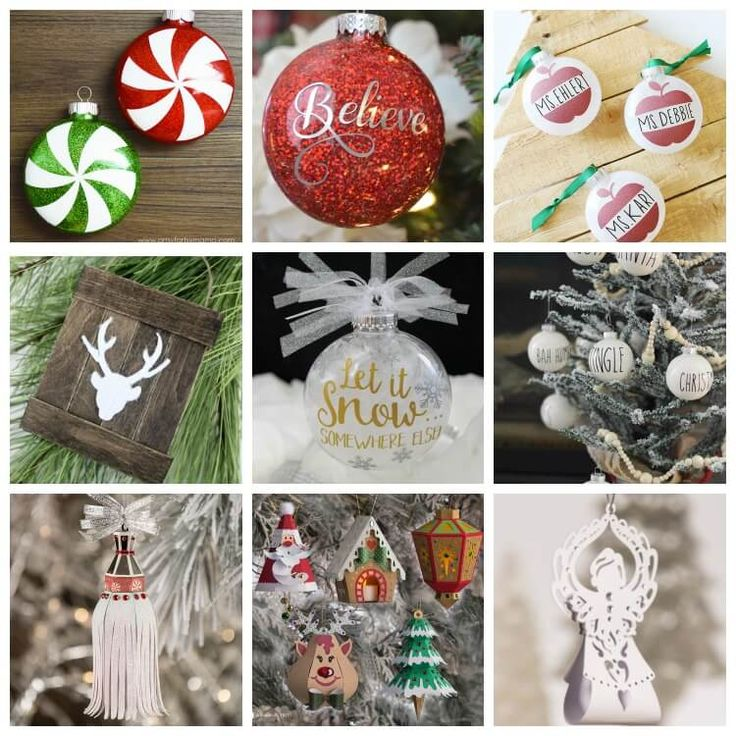 Cricut Christmas Ornament Projects Holiday Crafting Fun
