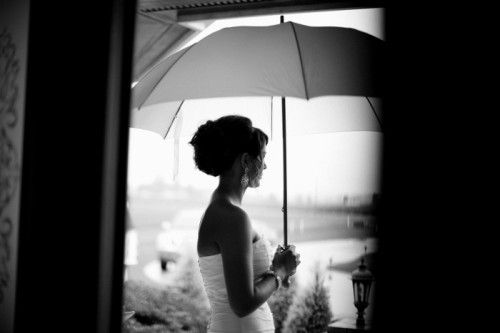 umbrella bride
