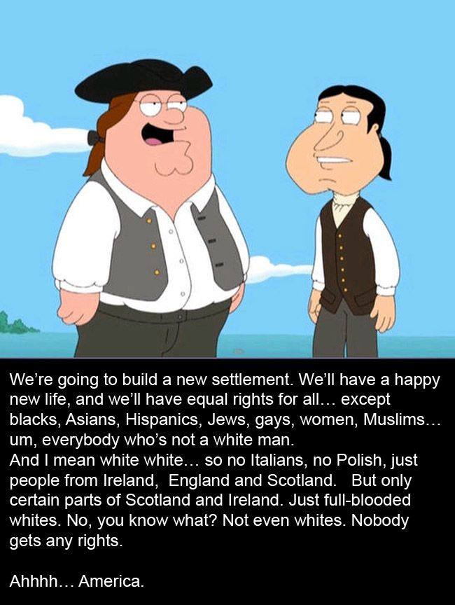 You're a wise man, Peter Griffin
