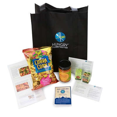 WIN THIS: A subscription to The Hungry Globetrotter! A $420 value! Sweeps ends Dec 31st.