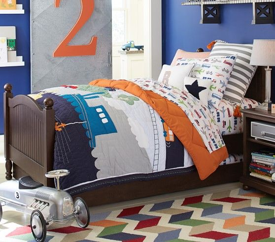Brody Quilted Bedding | Pottery Barn Kids