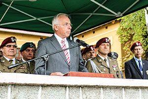 Jaarliijkse herdenking Polenplein, Poolse Parachutistenbrigade, Gen S.Sosabowski