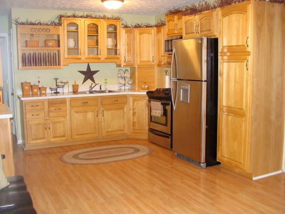 Primitive Country Decorating Ideas Clean Kitchen Kitchens