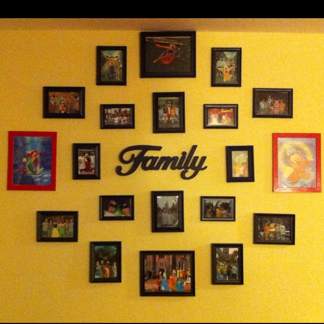 Awesome Family Picture Wall Ideas Photo - Wall Art Design ...