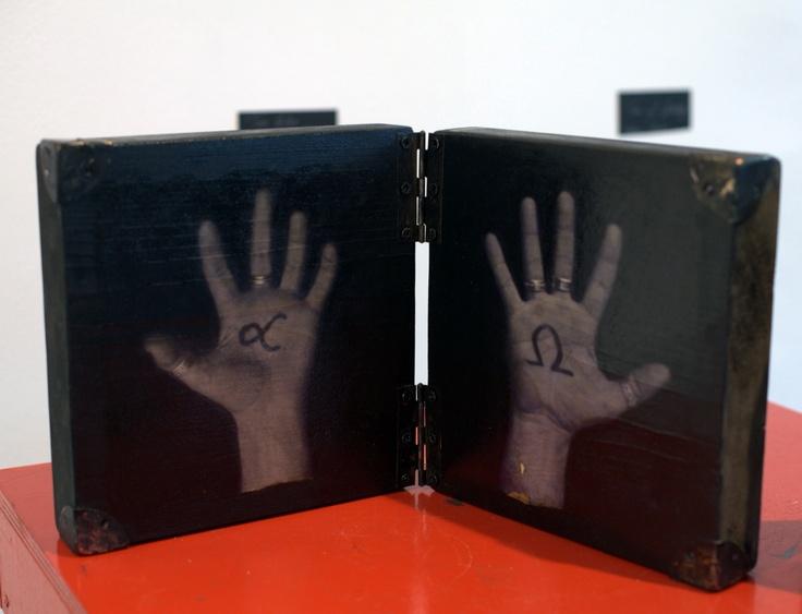 """""""Book of hands""""  Artist: Daniel Loagăr"""