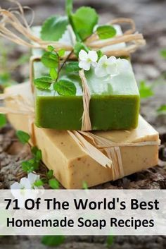 71 Of The World's Best Homemade Soap Recipes... www.herbsandoilsw... Want to try making your own soaps? Here are 71 of the world's best recipes all in one convenient place! Share this with your soap making friends so they can check it out!