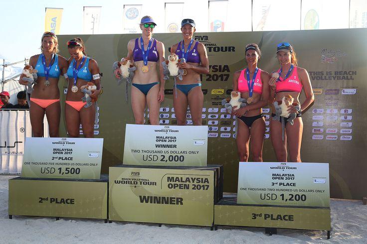 FIVB Beach Volleyball World Tour at Langkawi, Malaysia. May 23, 2017 #World Tour #Malaysia #BeachVolleyball #Austria