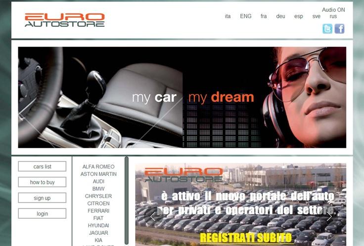 Website Euro Auto Store