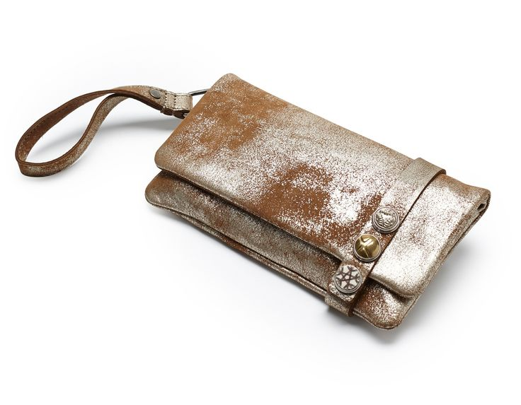 Noosa Amsterdam Classic Clutch - Brown Shimmer - YouAllover