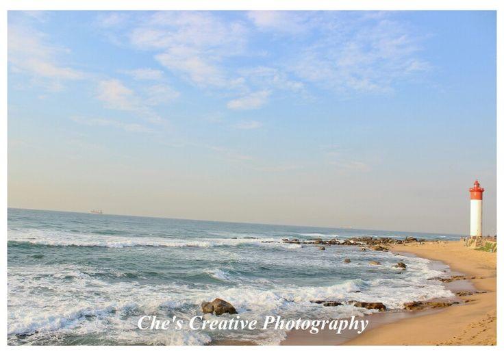 Durban sea beach lighthouse