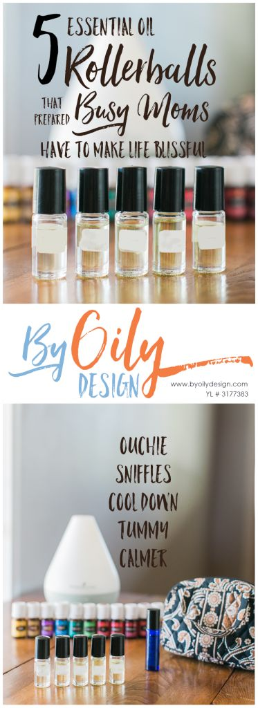 5 Essential oil rollerballs for kids that every prepared mom needs on had. DIY Recipes for the top 5 must have rollerballs for kids.