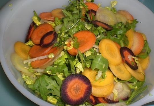 Farverig salat | Vild Med Mad