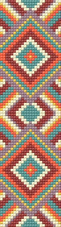 Loom Pattern wayuu pattern