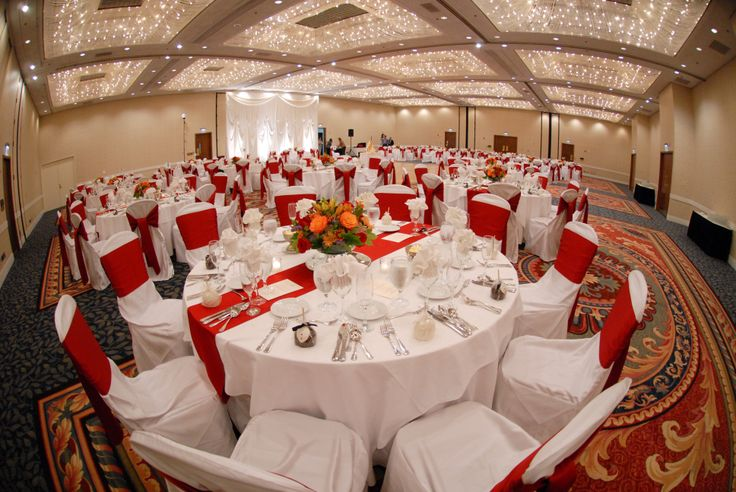 Our 7,500 square foot Grand Ballroom is perfect for weddings up to 400 guests!