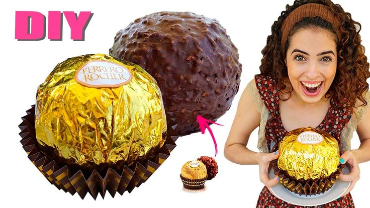 DIY EASTER: GIANT FERRERO ROCHER  !!! Paula Stephânia