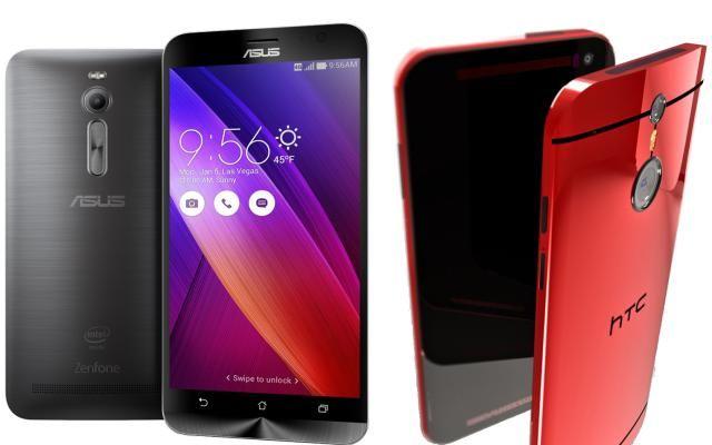 Diferencias entre Asus Zenfone 2 y HTC One M9