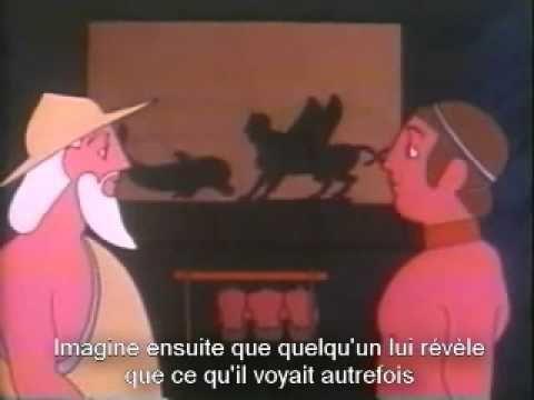 Voici une version animée de l'allégorie de la caverne de Platon. J'y ai ajouté les sous-titres en langue française. The Cave [videorecording] : a parable / t...