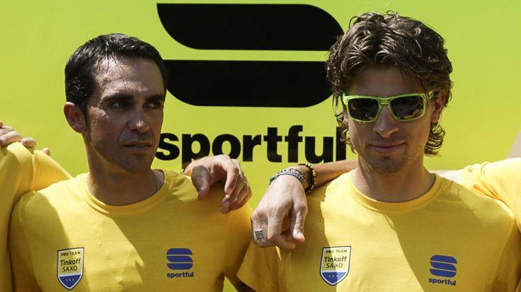 TOUR DE FRANCE - Dernière équipe à annoncer son équipe pour le Tour de France, Tinkoff a dévoilé le nom des coureurs présents dans l'Hexagone à partir du 2 juillet. Roman Kreuziger et Rafal Majka devront épauler Alberto Contador vers le titre tandis que...