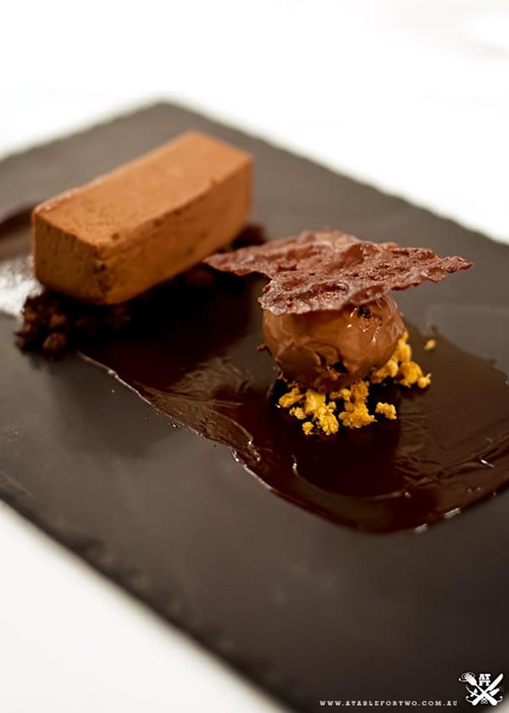 Emerson's at Pokolbin - Pokolbin, Hunter Valley, NSW {Chocolate Pave Block + Chocolate Soil + Chocolate Ice Cream + Honeycomb Crumbles}