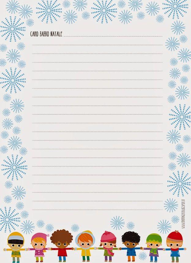 Letter to Santa (printable)