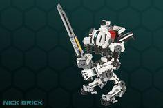 Titanfall 2's LEGO Ronin Titan online, signal when ready