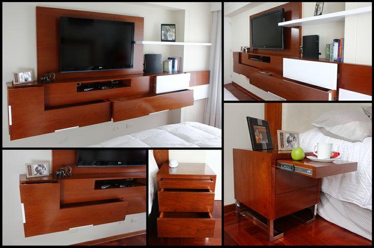 Muebles para dormitorio matrimonial  Proyectos Realizados