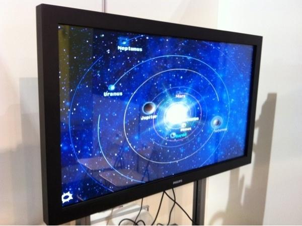Digibordles voor midden/bovenbouw basisscholen over ons zonnestelsel i.o.v. NOVA