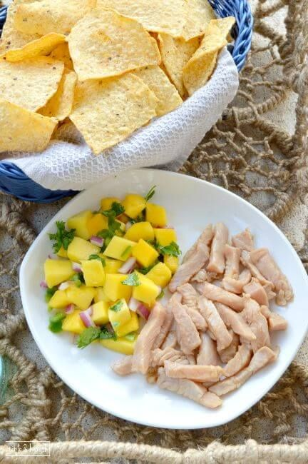 Soy Lime Tuna Ceviche - This quick and easy way to prepare fresh tuna is DELICIOUS and healthy!