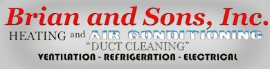Brian and Sons, Inc. is a full service heating, air conditioning and duct cleaning contractor and a factory authorized Bryant furnace and air conditioner dealer servicing Aurora, North Aurora, Montgomery,