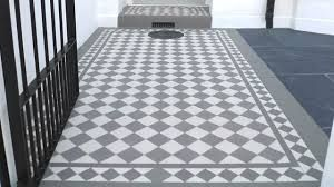 Image result for victorian tiles grey and white