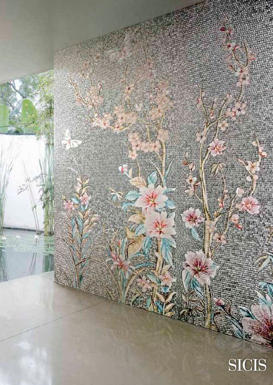 SICIS Orientale Collection - SICIS creates the most beautiful mosaics.  My dream is someday I'll have one in my home. Hey a girl can dream!