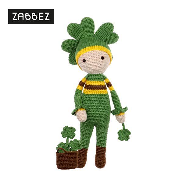 Four-Leaf Clover Klaus - Amigurumi doll crochet pattern | CROCHET ...