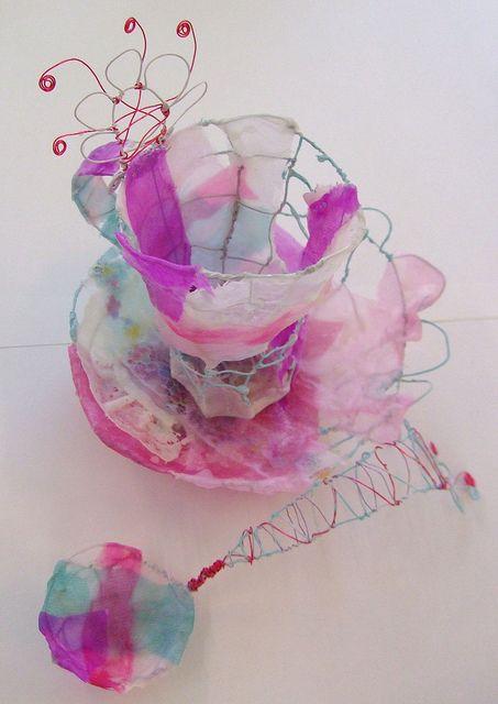 Pink Tea Cup by priscilla jones