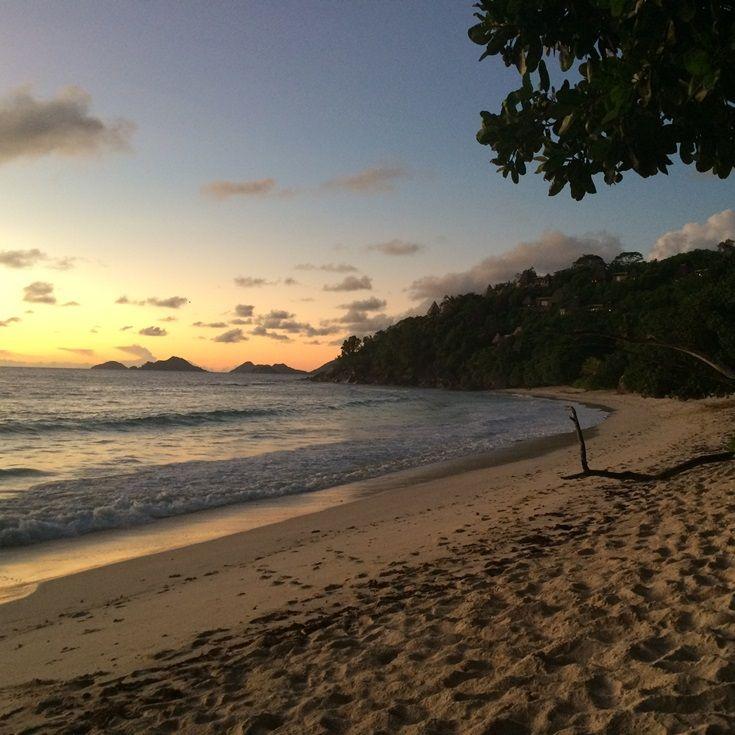Sunset from Maia Resort, Mahe #seychelles #beach #travel #luxury #adventure