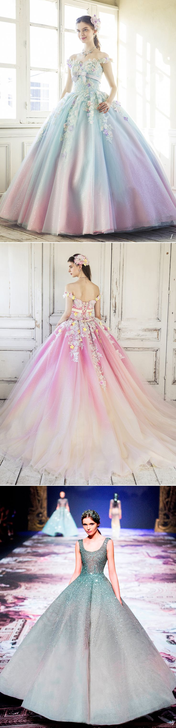 16 Magical Wedding Gowns Fairy Tale Fans Will Adore!