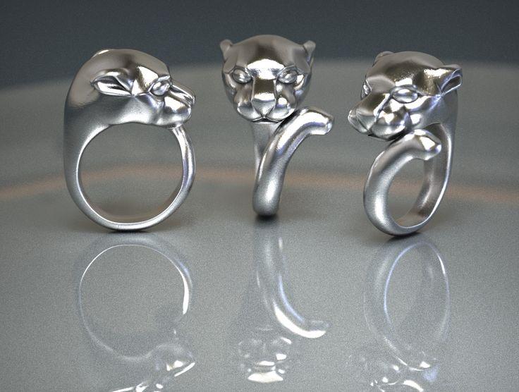 Panther Ring - T-Splines